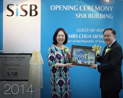 OFFICIAL OPENING OF SISB BUILDING